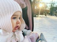 Adrienne de Suède, 10 mois : Les beaux yeux bleu glacier de la princesse