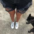 L'un des chiens de Jesta et Benoît - Instagram, 12 août 2017
