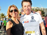 Laura Tenoudji et Christian Estrosi : Baiser mouillé pour le couple sportif