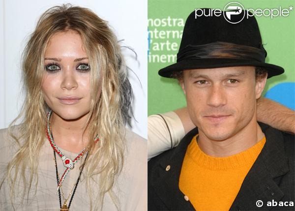 Heath Ledger et Mary-Kate Olsen sortaient ensemble...