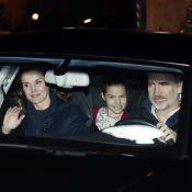 Letizia et Felipe d'Espagne, Leonor et Sofia : Goûter de rois chez Jesus Ortiz