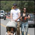 Halle Berry et son compagnon Gabriel Aubry passent un après-midi ensoleillé avec leur fille Nahla. 24/05/06