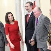 """Letizia et Felipe d'Espagne : Très entourés en famille pour de super """"Campeones"""""""