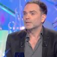 """Yann Moix s'explique sur ses propos concernant ses goûts en matière de femmes devant Thierry Ardisson dans """"Les Terriens du samedi"""" (C8) le 12 janvier 2019."""