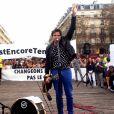 Matthieu Chedid (Le chanteur M) - Marche pour le climat à Paris. Le 13 octobre 2018 © Céline Bonnarde / Bestimage
