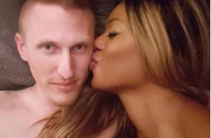 Laverne Cox : La star d'Orange Is the New Black pose au lit avec son chéri