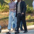 """Exclusif - Ewan McGregor fait une pause avec sa compagne Mary Elizabeth Winstead sur le tournage de """"Dr Sleep"""" à Atlanta le 1er octobre 2018."""