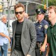 Ewan McGregor arrive à l'émission The Late Show présentée par S. Colbert à New York, le 1er août 2018