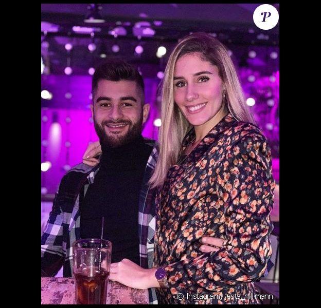 Jesta et Benoît le jour de Noël, à Toulouse - Instagram, 24 décembre 2019