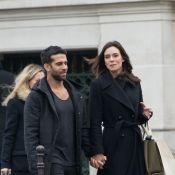 Marine Lorphelin : Virée en amoureux avec son chéri Christophe à Paris