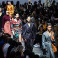 Défilé de mode Acne Studios, collection prêt-à-porter automne-hiver 2019-20 à Paris, le 20 janvier 2019.