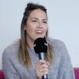 Interview de Tiffany (Mariés au premier regard) pour Purepeople.com. Janvier 2019.
