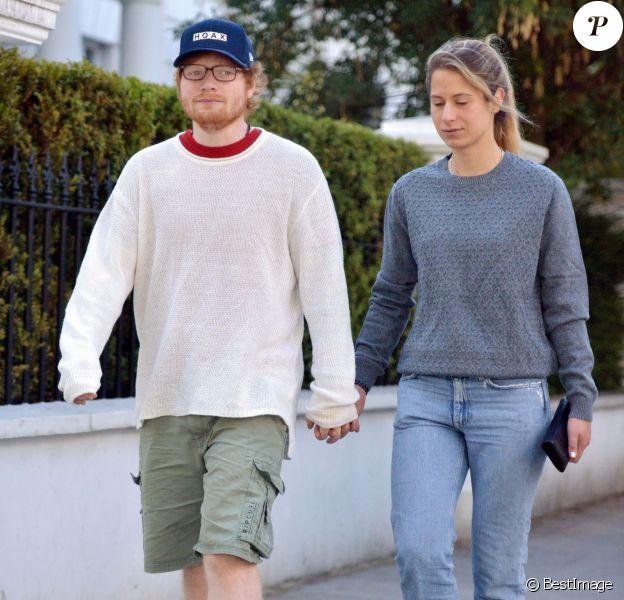Ed Sheeran et sa femme Cherry Seaborn.