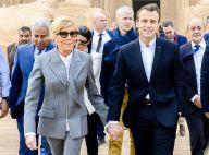 Emmanuel et Brigitte Macron en Égypte : La première dame en tailleur et baskets