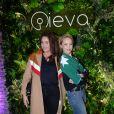 Lola Dewaere et Hélène de Fougerolles - Soirée de lancement d'un e-shop Ieva (un pop-up store 38 rue Sainte-Croix-de-la-Bretonnerie) à Paris, France, le 31 janvier 2019. © Rachid Bellak/Bestimage