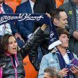 Valérie Bègue et Dylan Deschamps lors du match de coupe du monde opposant la France au Pérou au stade Ekaterinburg à Yekaterinburg, Russie, le 21 juin 2018. La France a gagné 1-0. © Cyril Moreau/Bestimage