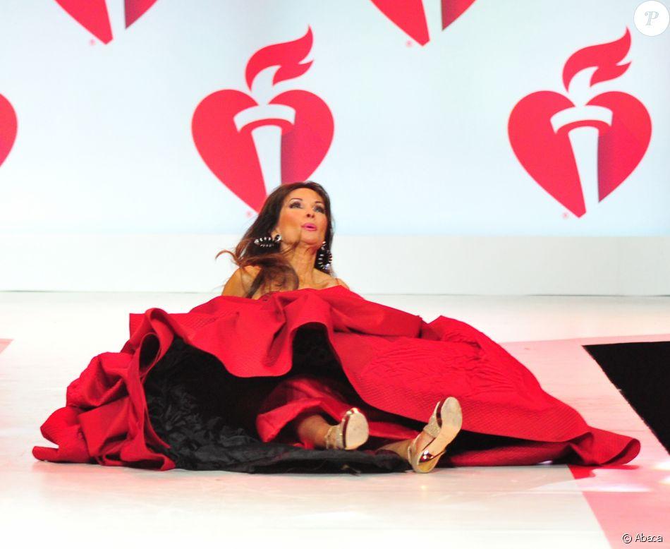 Susan Lucci - Soirée American Heart Association's Go Red For Women Red Dress Collection 2019 au Hammerstein Ballroom à New York City, le 7 février 2019.