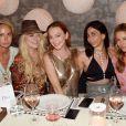Exclusif - Lindsay Lohan fête son 32ème anniversaire avec famille et amis à Mykonos. Grèce, le 2 juillet 2018.