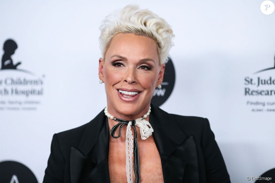 Brigitte Nielsen à la 24ème soirée caritative annuelle St. Jude Children's Research Hospital au Convention Center à Los Angeles le 23 janvier 2019.
