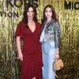 Catherine Zeta-Jones et sa fille Carys au défilé de mode Michael Kors Collection automne hiver 2019/2020 lors de la fashion week de New York le 13 février 2019.
