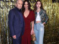 Fashion Week : Catherine Zeta-Jones, sublime avec Michael Douglas et leur fille