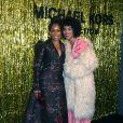 Reginae King et Kerry Washington au défilé de mode Michael Kors Collection automne hiver 2019/2020 lors de la fashion week de New York le 13 février 2019.
