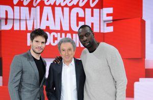Vivement Dimanche : Omar Sy et François Civil complices face à Michel Drucker