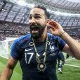Adil Rami - Finale de la Coupe du Monde de Football 2018 en Russie à Moscou, opposant la France à la Croatie (4-2). Le 15 juillet 2018 © Moreau-Perusseau / Bestimage