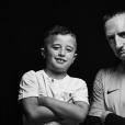 Franck Ribéry et son fils Seïf el Islam, photo Instagram.