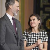 """Letizia d'Espagne : Look à la Diana et rencontre """"intime"""" à Cordoue"""