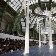Défilé Chanel printemps-été 2013 au Grand Palais à Paris.
