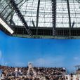 Défilé Chanel à la plage, collection printemps-été 2019 au Grand Palais, à Paris.