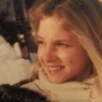 Solenn Poivre d'Arvor dans les années 90, un cliché révélé par Patrick Poivre d'Arvor le 27 janvier 2017.