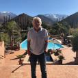 Sir Richard Branson en 2017 à la Kasbah Tamadot, à Asni au Maroc, hôtel de luxe 5* de Virgin Limited Edition. Photo Instagram.