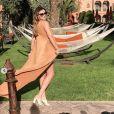 Rachel Legrain-Trapani à Marrakech avec sa copine Malika Ménard après sa rupture avec Benjamin Pavard, depuis le 19 février 2019.