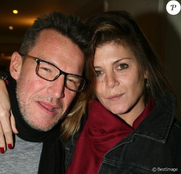 Benjamin Castaldi et sa femme Aurore - L'association Citestars fait son cabaret et fête ses 20 ans lors de l'élection de Miss Beauté nationale à l'hôtel InterContinental à Paris le 18 novembre 2018. © JLPPA /Bestimage