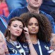 Rachel Legrain-Trapani, Miss France 2007 et Alicia Aylies, miss France 2017 - Célébrités dans les tribunes opposant la France à l'Argentine lors des 8ème de finale de la Coupe du monde à Kazan en Russie le 30 juin 2018 © Cyril Moreau/Bestimage