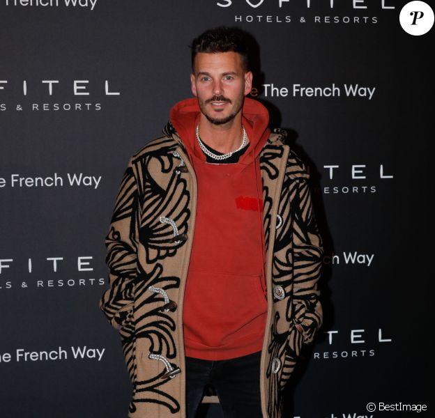 """Matt Pokora - Soirée """"La nuit by Sofitel"""" au pavillon Cambon à Paris, lors de la fashion week. Le 28 février 2019 © CVS-Veeren / Bestimage"""