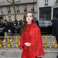 Katherine Langford - Arrivée des people au défilé de mode Valentino collection prêt-à-porter Automne-Hiver 2019/2020 lors de la fashion week à Paris, le 3 mars 2019.