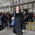 Alexa Chung - Arrivée des people au défilé de mode Valentino collection prêt-à-porter Automne-Hiver 2019/2020 lors de la fashion week à Paris, le 3 mars 2019.