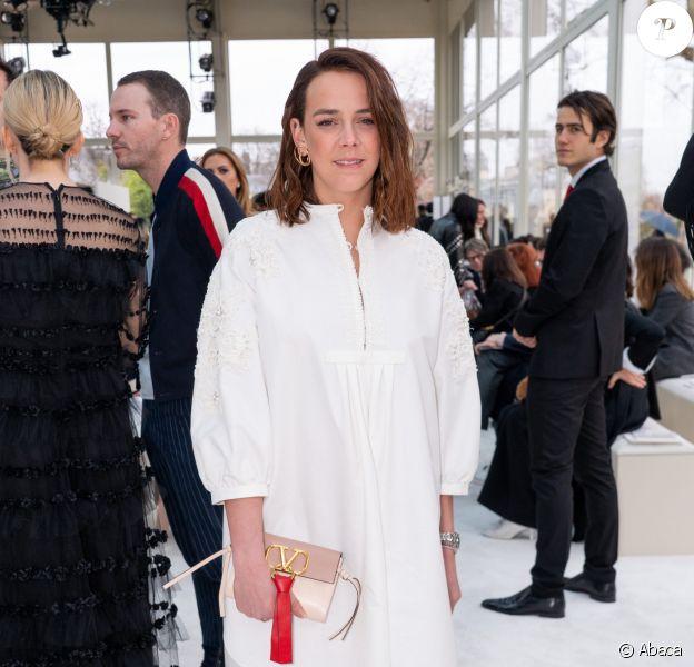 Pauline Ducruet - Défilé de mode Valentino collection prêt-à-porter Automne-Hiver 2019/2020 lors de la fashion week à Paris, le 3 mars 2019.