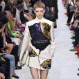 Défilé de mode Valentino collection prêt-à-porter Automne-Hiver 2019/2020 lors de la fashion week à Paris, le 3 mars 2019.