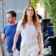 Jennifer Lopez en plein tournage de son nouveau film The Backup Plan