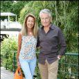 Gilbert et Nicole Coullier  à Roland Garros, hier
