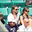 Bob Sinclar était à Roland Garros, hier