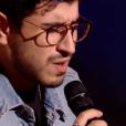 """Marwan dans """"The Voice 8"""" sur TF1, le 9 mars 2019."""