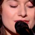 """Claire dans """"The Voice 8"""" sur TF1, le 9 mars 2019."""