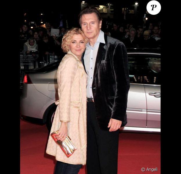 Liam Neeson et Natasha Richardson