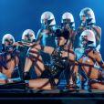 """Viktoria Modesta est la star de """"Bionic Show Girl"""", le nouveau spectacle du Crazy Horse à Paris, du 3 au 20 juin 2019."""