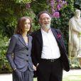 """Isabelle Huppert et Alessandro Capone, à l'occasion de l'avant-première de """"L'amour caché"""", à l'ambassade français de Rome, le 4 juin 2009 !"""